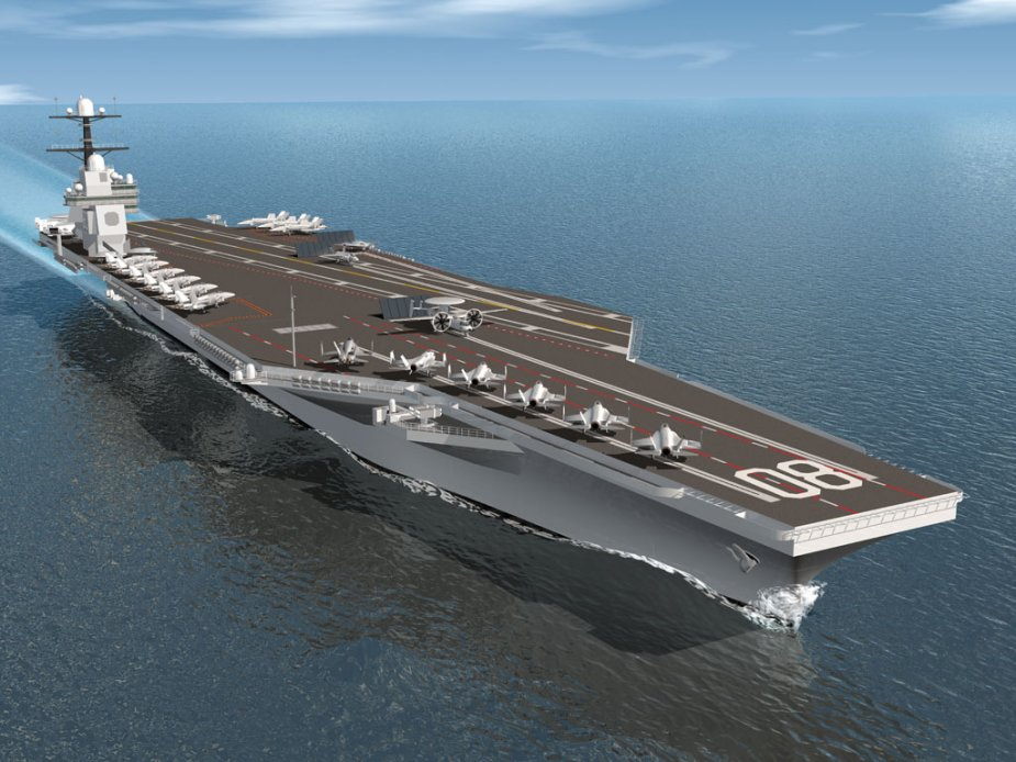 US Navy to construct 2 additional aircraft carriers