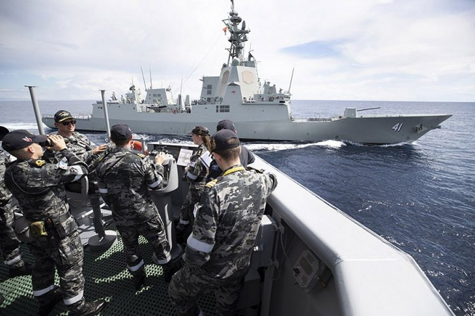Australian Navy testing new multi cam uniform the MMPU