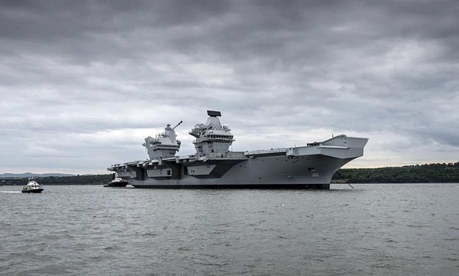 Royal Navy to build three support ships for its aircraft carriers