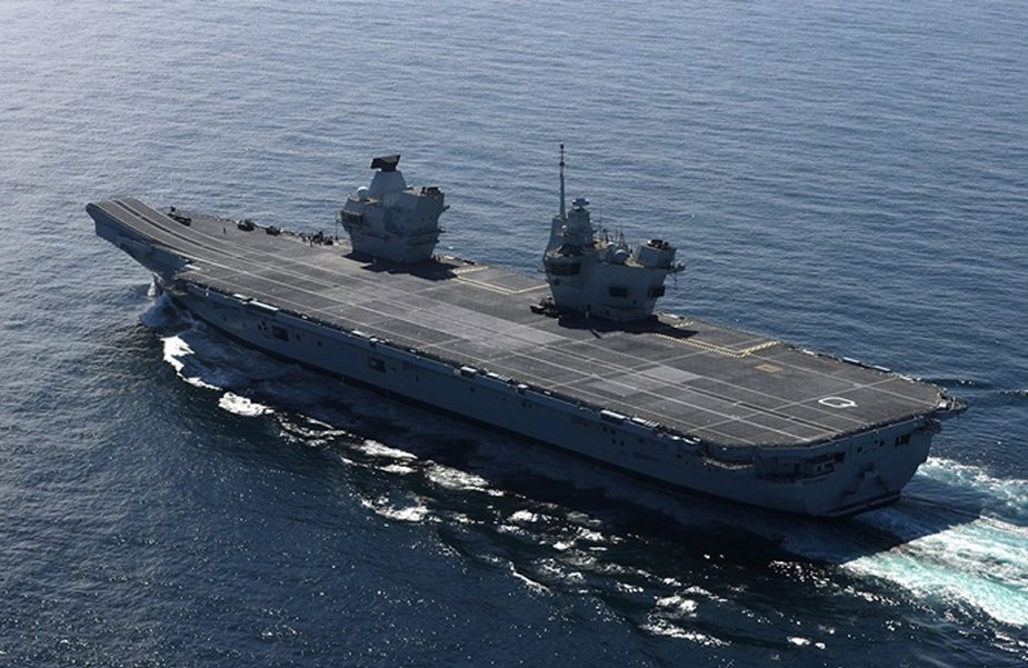 Royal Navy to send a carrier group in the South China Sea in 2021