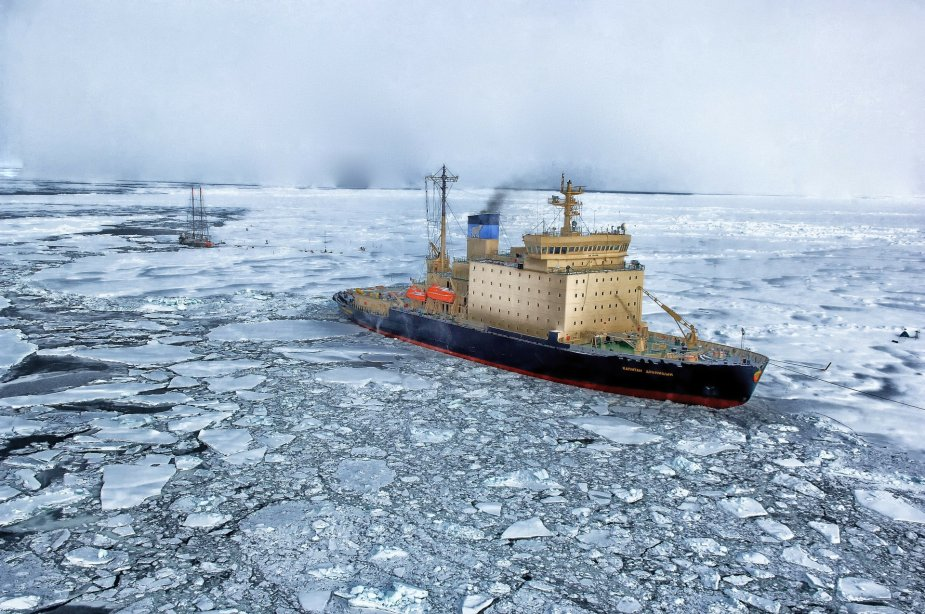 Global warming could bring new challenges in the Arctic region