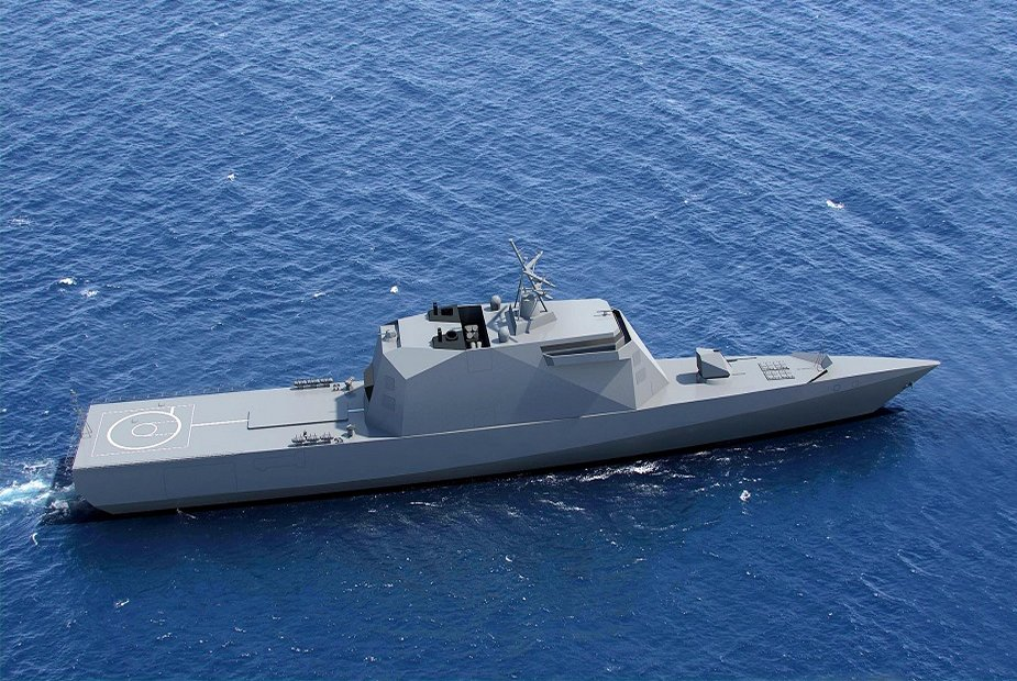 Russia linked the sections of Project 20386 Corvette Merkuriy