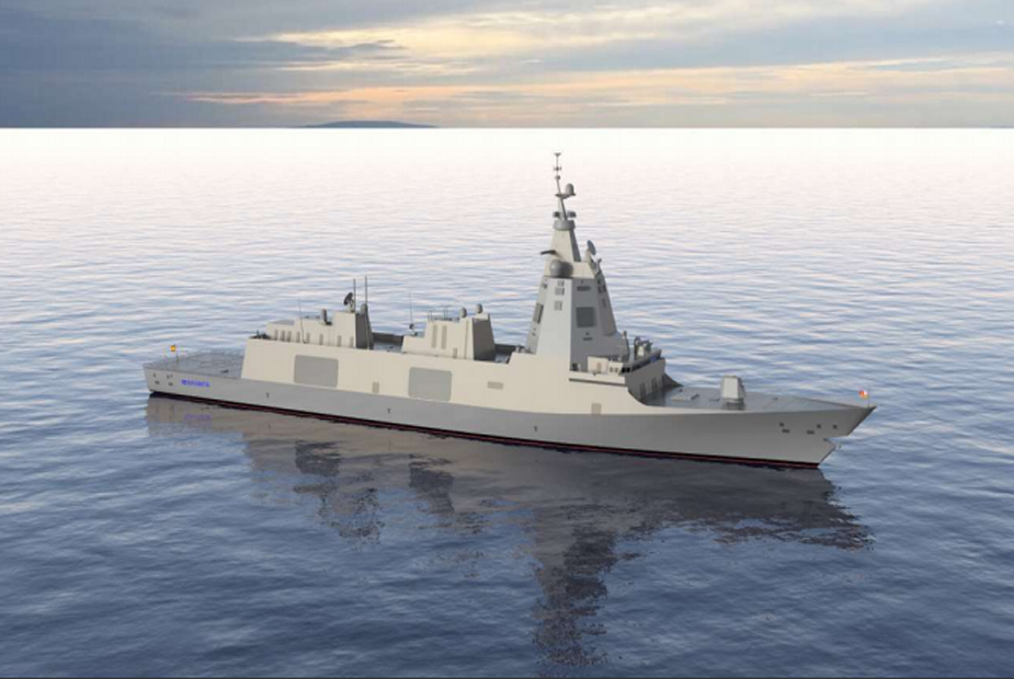 Spanish MoD inked F 110 frigate contract with Navantia