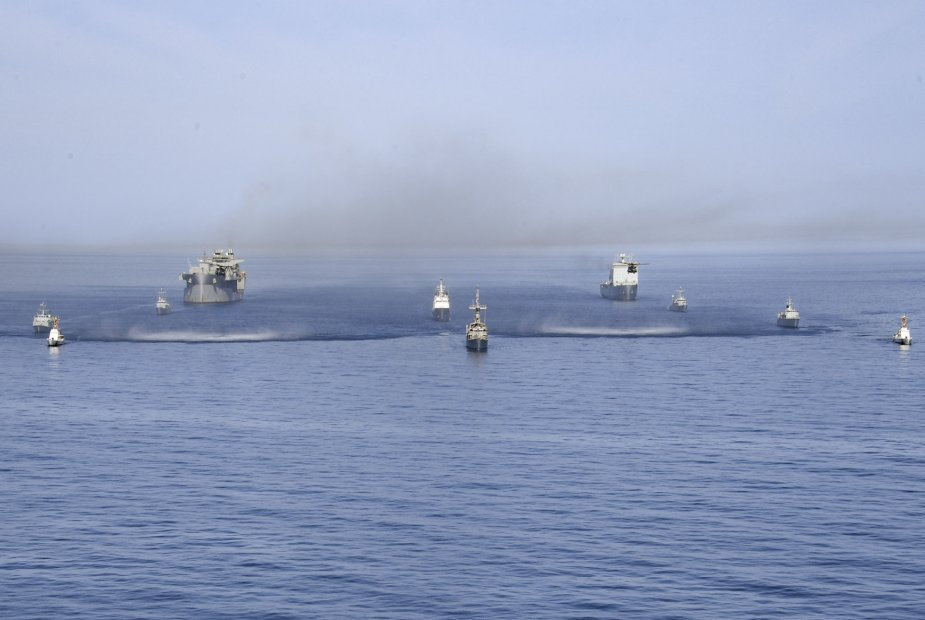 U.S. France and UK Navies completed Artemis Trident 19 exercise