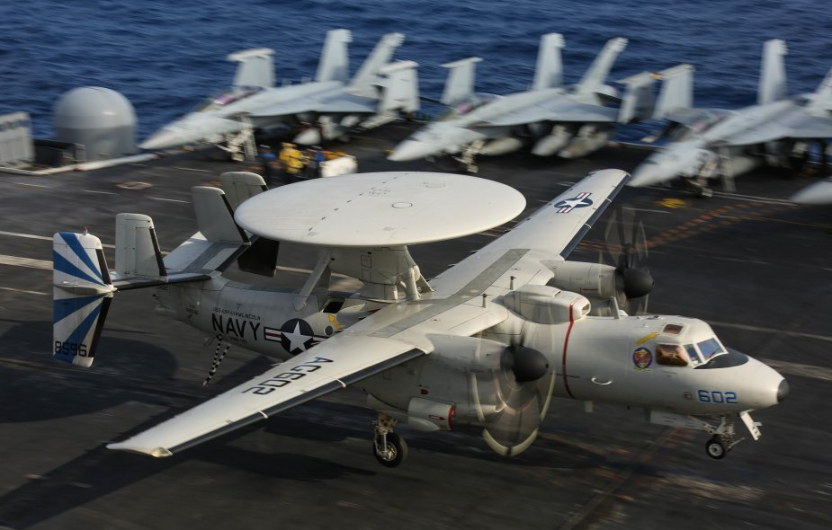 US Navy ordered 24 Hawkeye E 2D aircraft