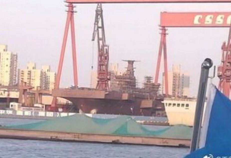 Chinas First Helicopter Carrier Type 075 Nearing Completion 925 001