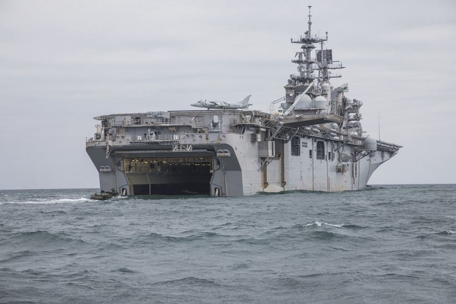 USS Bataan LHD 5 Amphibious Ready Group completed first Surface ...