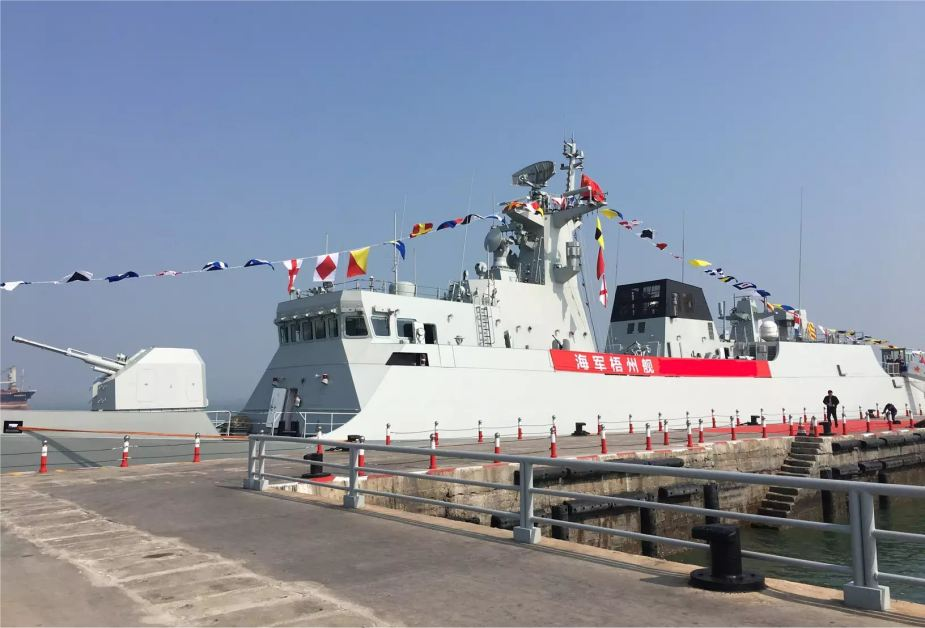 China has launched five warships in December 2019 including Type 056A Type 052D Type 055 missile destroyers and frigates 925 001