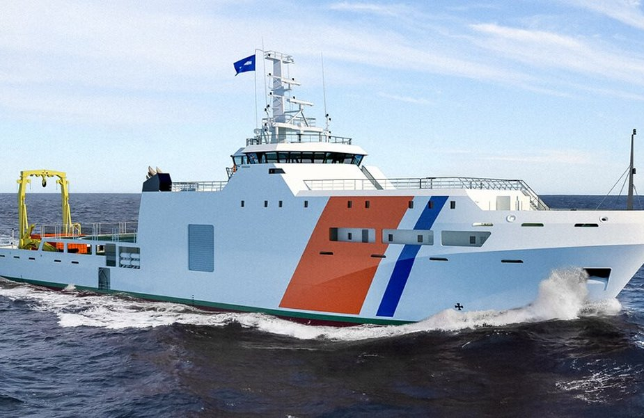 Damen Signs contract with Cotecmar for DTC hydrographic Research Vessel 925 001