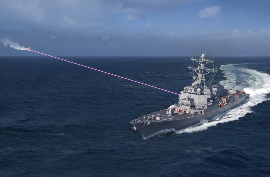 US Navy to arm its destroyers with HELIOS Laser Weapons by 2021 925 001