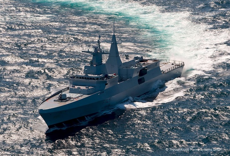 Germany approves Meko 200 frigate export to Egypt