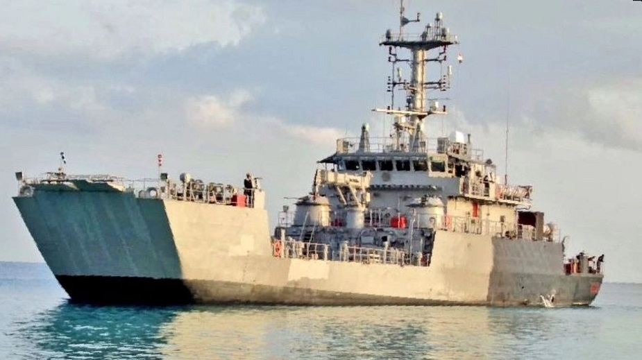 Amphibious ship LCU L 56 commissioned into Indian Navy