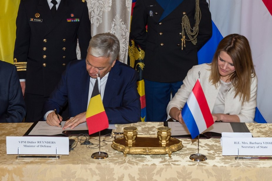 Belgium and Netherlands sign contract to purchase twelve mine hunters 2