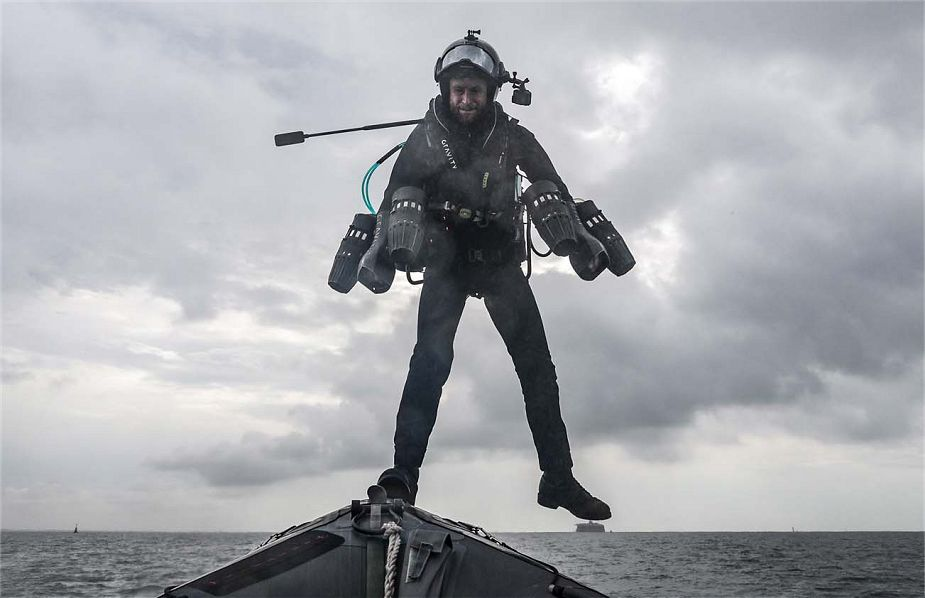British Ironman to test his jet powered body suit over the water after French Flying Man 925 002
