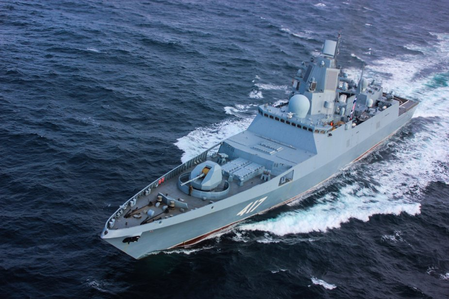 Russian Navy maintains high combat readiness