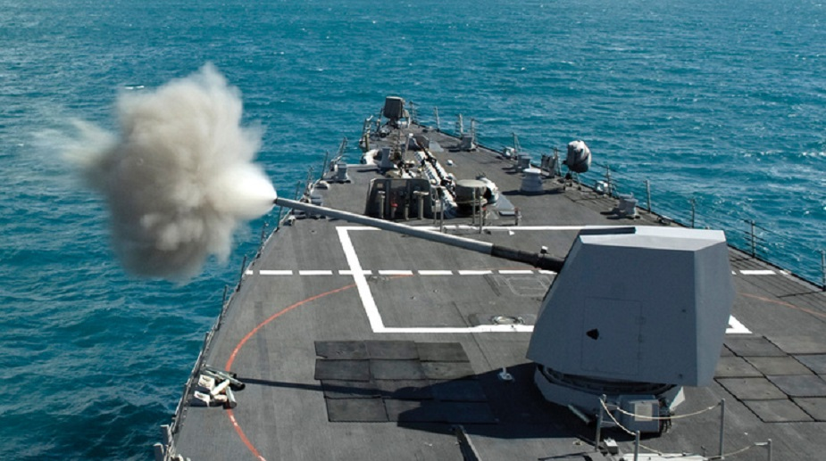 US Navy awards BAE Systems 70 million contract for upgraded Mk 45 gun systems