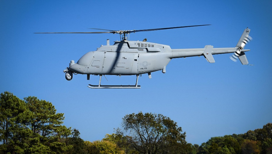 US Navy declared initial operational capability for the Northrop Grumman MQ 8C Fire Scout