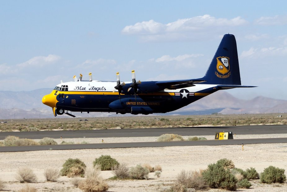 US Navy signs contract for former RAF C 130J to replace Fat Albert of Blue Angels
