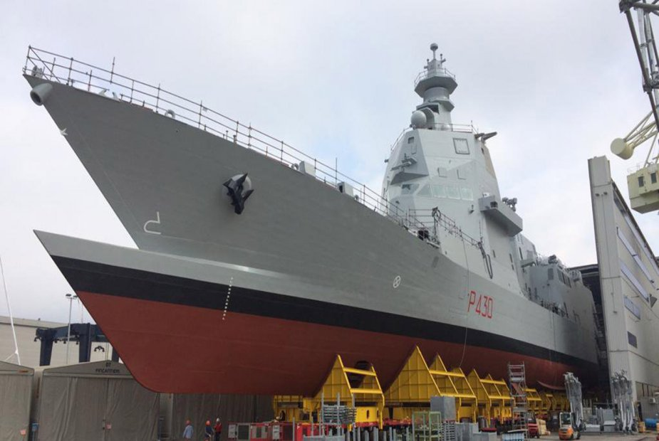 Fincantieri launched first PPA of the Italian Navy