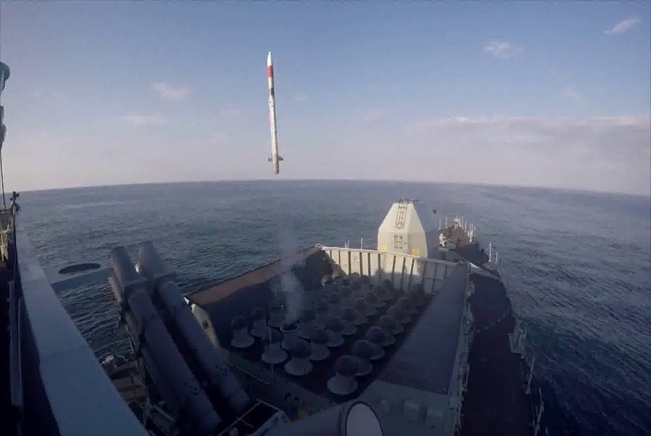 Royal Navy frigate HMS Northumberland tested Sea Ceptor missile system