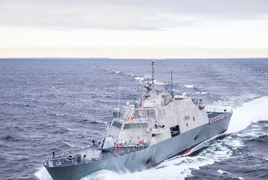 USS Billings US Navy new warship struck commercial ship in Canada
