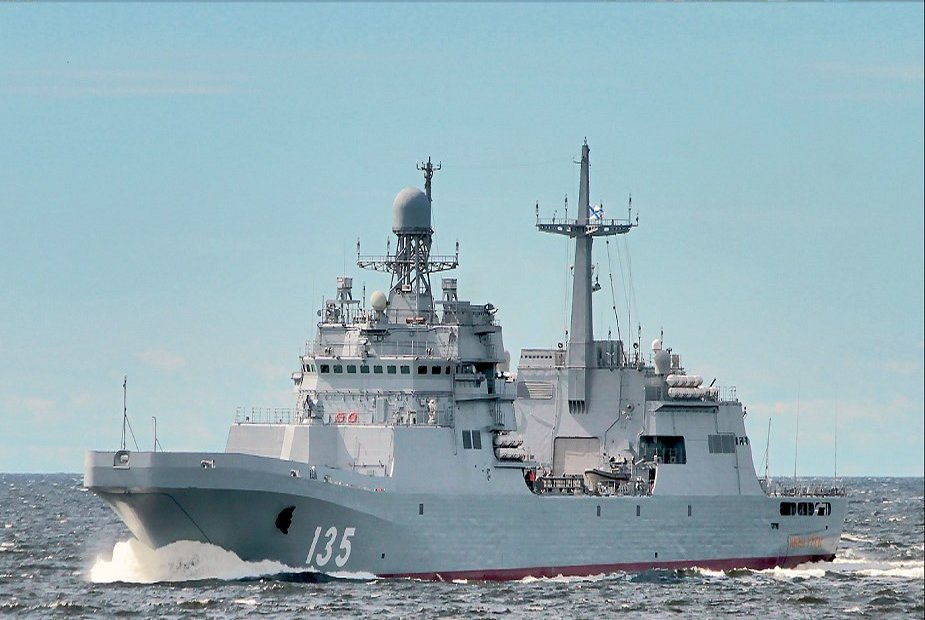 Russian Navy Project 11711 warships to accommodate speedboats