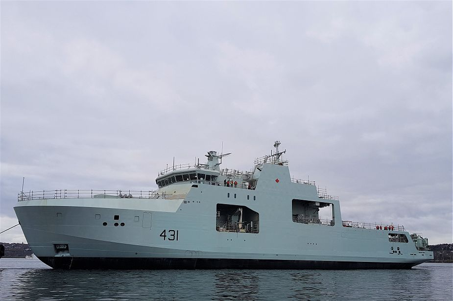 IRVING Halifax Shipyard has started sea trials of future HMCS Harry DeWolf Arctic Patrol Ship 925 001
