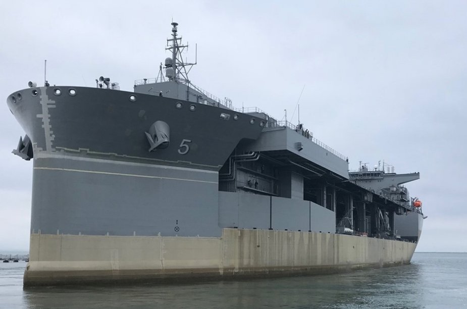 U.S.Navys Newest Expeditionary Sea Base Ship Completed Sea Trials 925 001