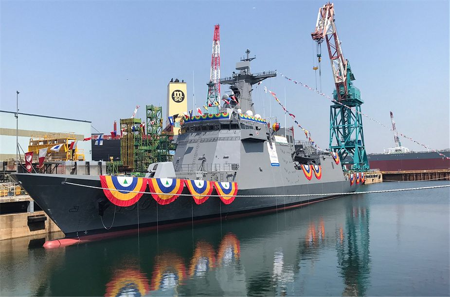 Philippines naval capability will be boosted further with the arrival of three frigates next year 925 001