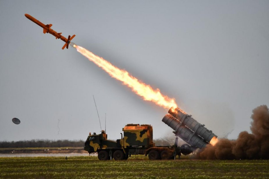 Ukraine Successfully tests the Neptune land based cruise missile system 925 001