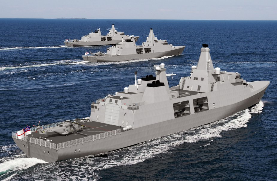Babcock completes Type 31 whole ship preliminary design review