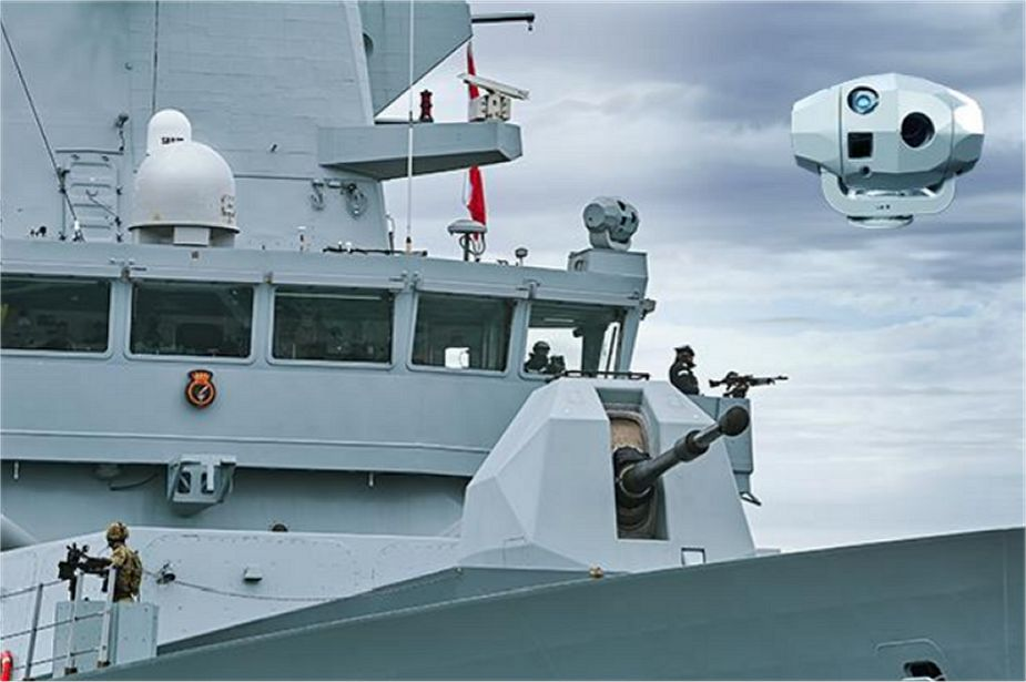 British Company Ultra to support Electro optical tracking system of British navy Type 45 destroyer 925 001