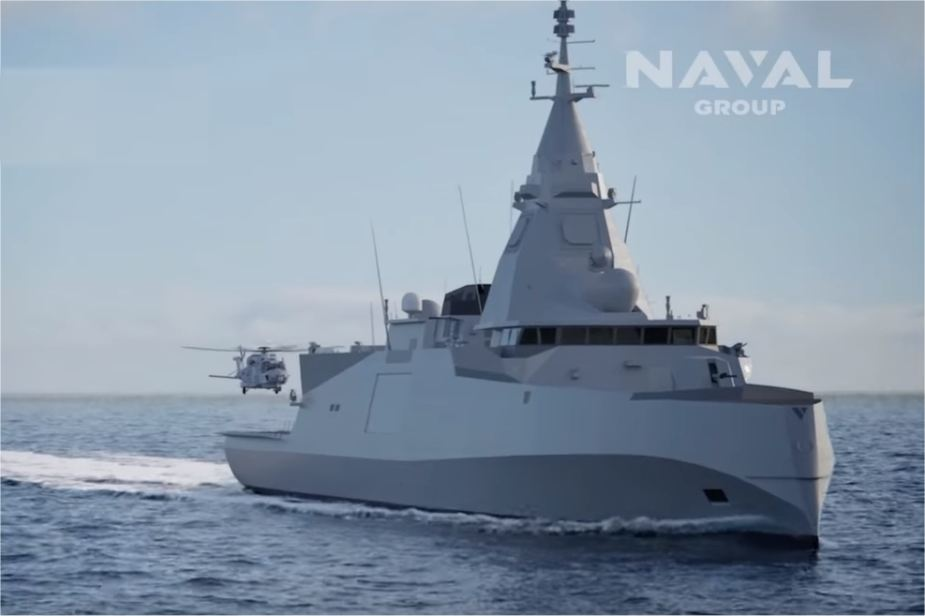 French Company Naval Group presents its industrial coooperation plan for Hellenic Navy 925 001