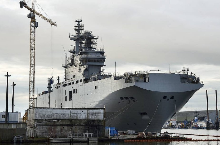 Russias Defense Ministry to sign contract for two helicopter carriers 925 001