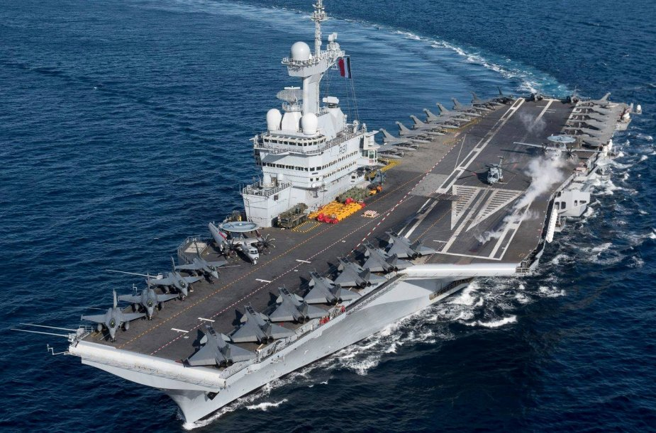 Charles de Gaulle aircraft carrier begins Foch Mission 925 001