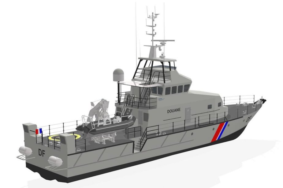 French Customs Order OCEA FPB 100 MKII Patrol Boats 925 001