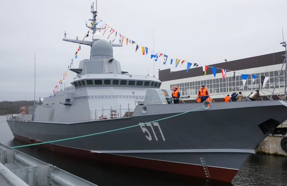 In 2019 the Baltic Fleet was replenished with ships and latest military equipment 925 001
