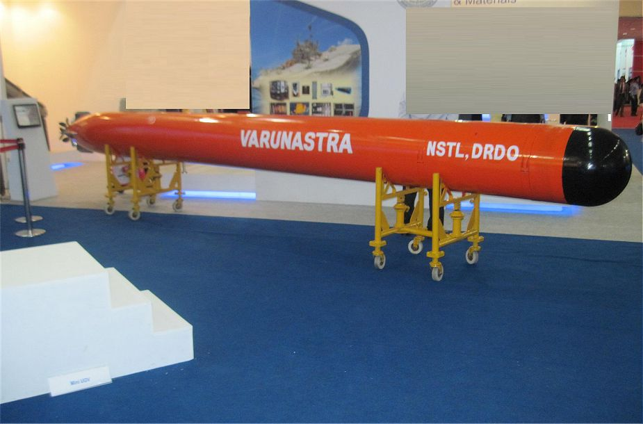 Indian Navy will receive soon first batch of local made Varunastra torpedo 925 001