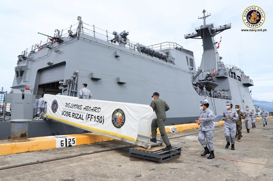 Philippine Navys brand new frigate Jose Rizal departs for RIMPAC exercise in Hawaii 925 002