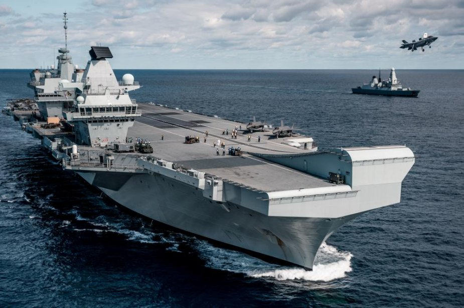 Royal Navy HMS Queen Elizabeth to be deployed to South China Sea for military drills 925 001
