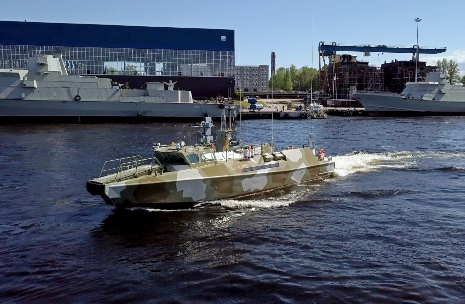 Russian Navy latest Raptor class patrol boats officialy enter the Baltic Fleet 925 001