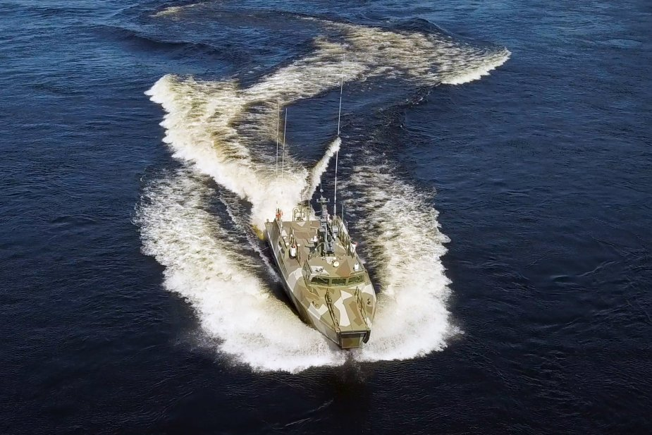 Russian Navy latest Raptor class patrol boats officialy enter the Baltic Fleet 925 002