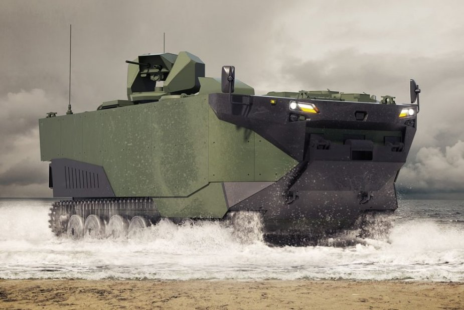 Turkish Navy to procure ZAHA Armored amphibious assault vehicle in 2022 925 001