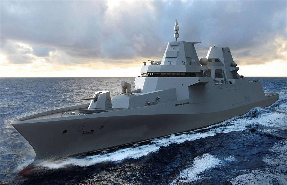 Dutch shipbuilder Damen signs contract for construction of four MKS 180 frigate for German Navy 925 001