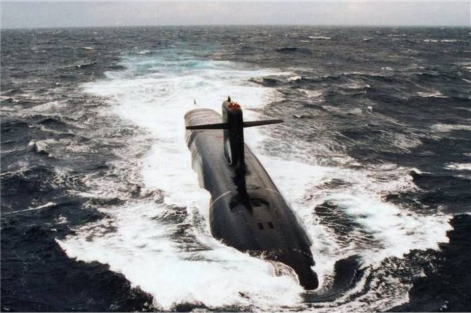 French Navy conducts test fire of M51 ballistic missile from Le Temeraire SSBN ballistic missile submarine 925 002