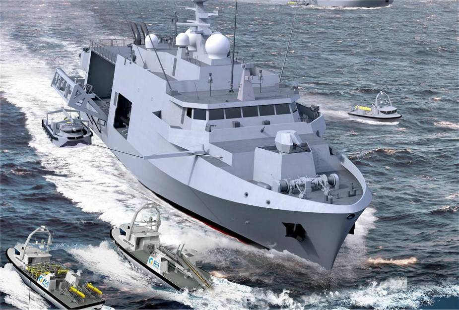 Naval program for 12 new minehunter vessels for Belgian and Dutch navies reaches a new milestone 925 001
