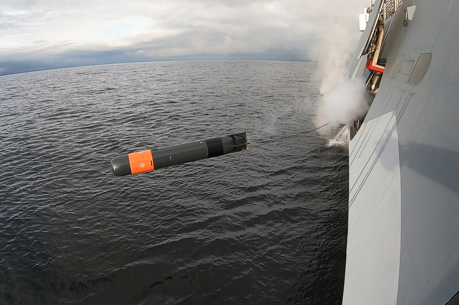 Saab Surface Ship and Submarine Successfully Fired Lightweight Torpedo 925 002