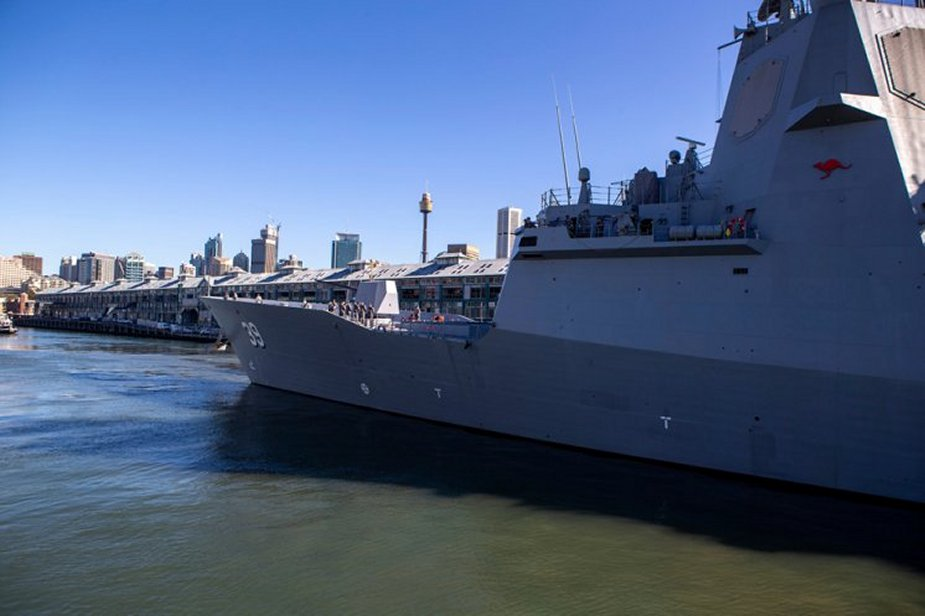 Seven ships of the Royal Australian Navy set sail to undertake training exercises 925 001