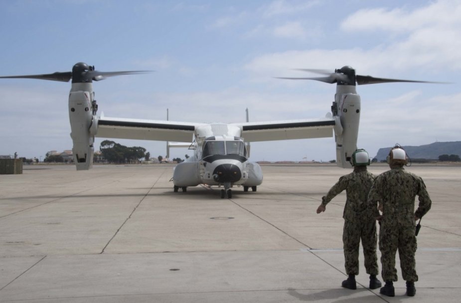 US Navy First CMV 22B Arrives at Naval Air Station North Island for Operational Use 925 001