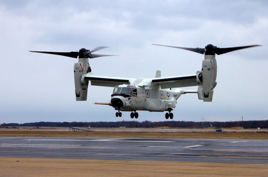 US Navy First CMV 22B Arrives at Naval Air Station North Island for Operational Use 925 002